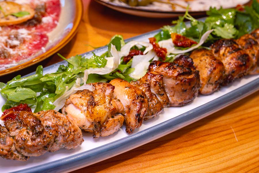 Skewers at The Meatery, restaurant for steak and grill in Shanghai. Photo by Rachel Gouk @ Nomfluence.