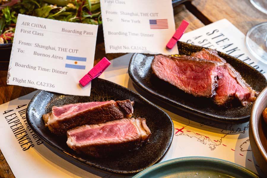 The CUT Steak & Fries, restaurant and steakhouse in Shanghai. Photo by Rachel Gouk @ Nomfluence.