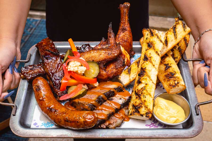 Barbecue and grill at Bandit, a restaurant and bar in Shanghai. Photo by Rachel Gouk @ Nomfluence.