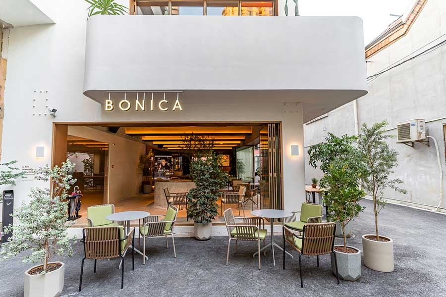 Bonica is a Mediterannean restaurant and bar in Jing'an, Shanghai by the Armada Group. @ Nomfluence