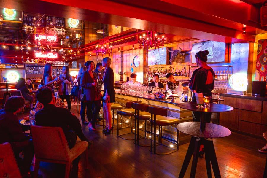 Mahjong Social Club is a games-themed cocktail bar at M on the Bund in Shanghai. Photo by Rachel Gouk @ Nomfluence.