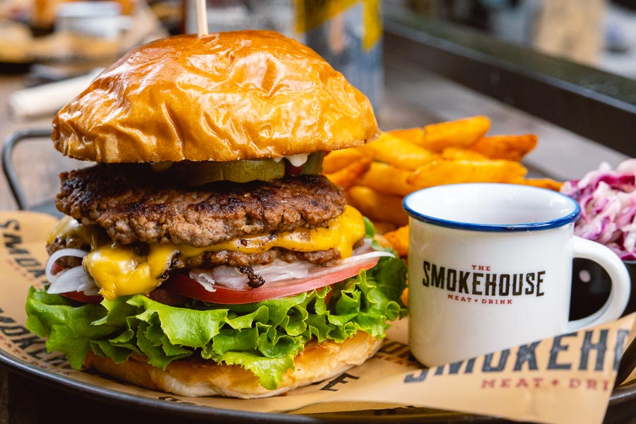 The Smokehouse is an American barbecue restaurant and bar in Shanghai that does smoked meats, burgers and sandwiches. Photo by Rachel Gouk @ Nomfluence.