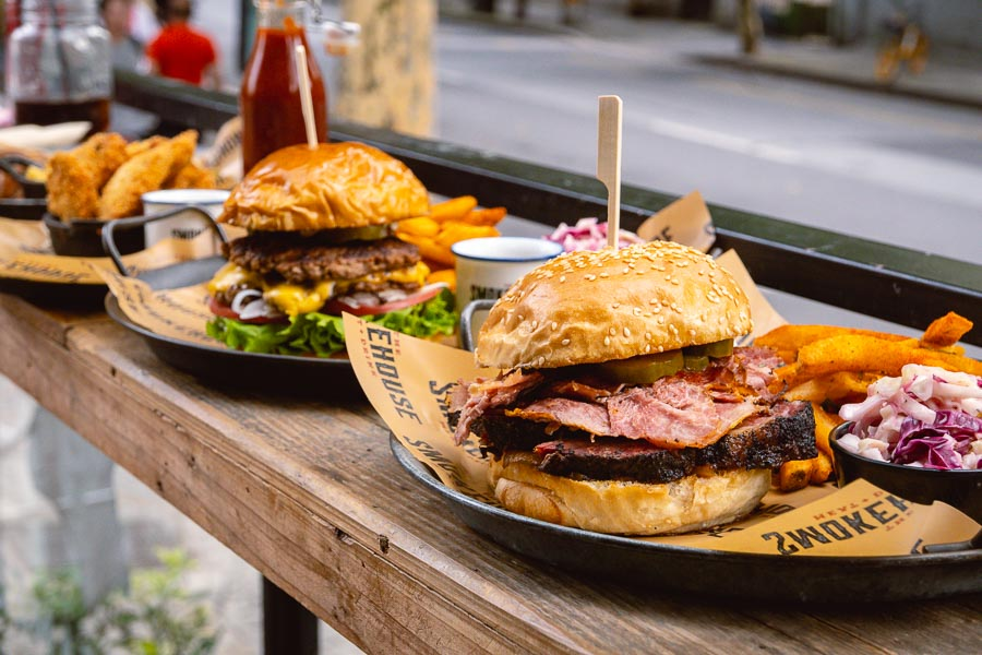 The Smokehouse is an American barbecue restaurant in Shanghai that does smoked meats, burgers and sandwiches. Photo by Rachel Gouk @ Nomfluence.