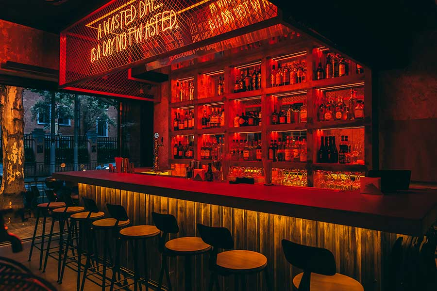The Drinkery is a casual bar in Shanghai. @ Nomfluence.