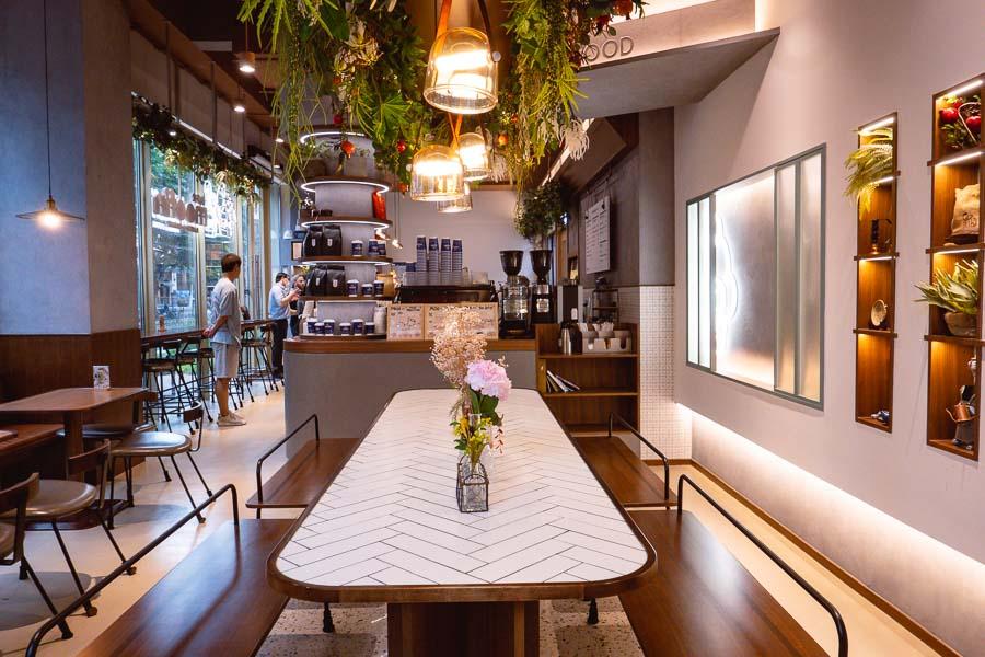 Moofin bakery & cafe. Restaurants, bars and cafes at The Roof, Xintiandi, Shanghai. Photo by Rachel Gouk @ Nomfluence.