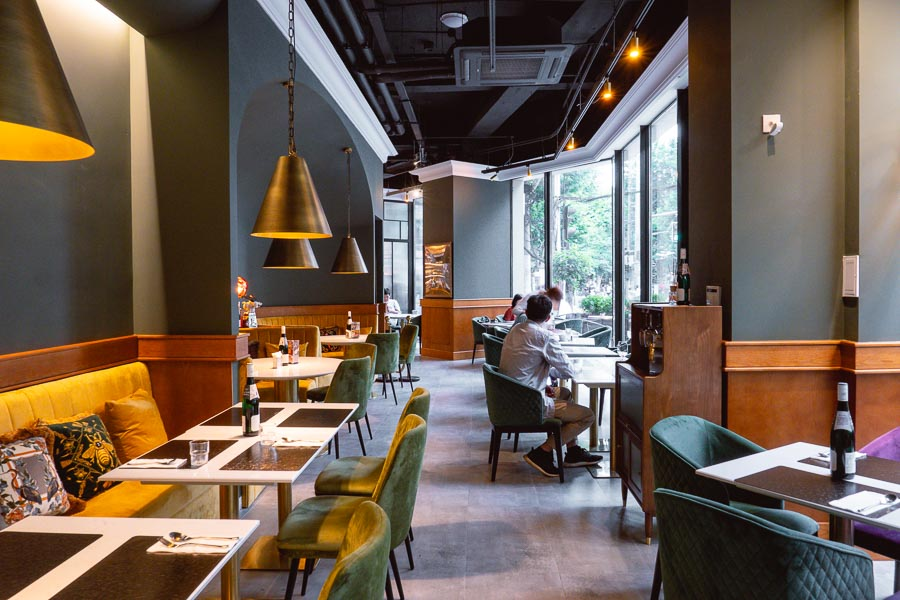Gentle by the Artist. Restaurants, bars and cafes at The Roof, Xintiandi, Shanghai. Photo by Rachel Gouk @ Nomfluence.