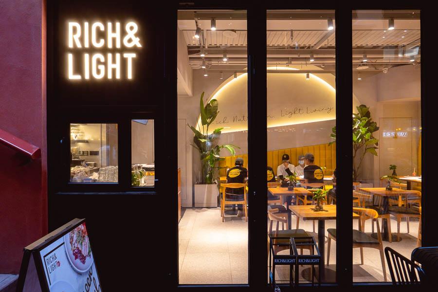 Rich & Light. Restaurants, bars and cafes at The Roof, Xintiandi, Shanghai. Photo by Rachel Gouk @ Nomfluence.