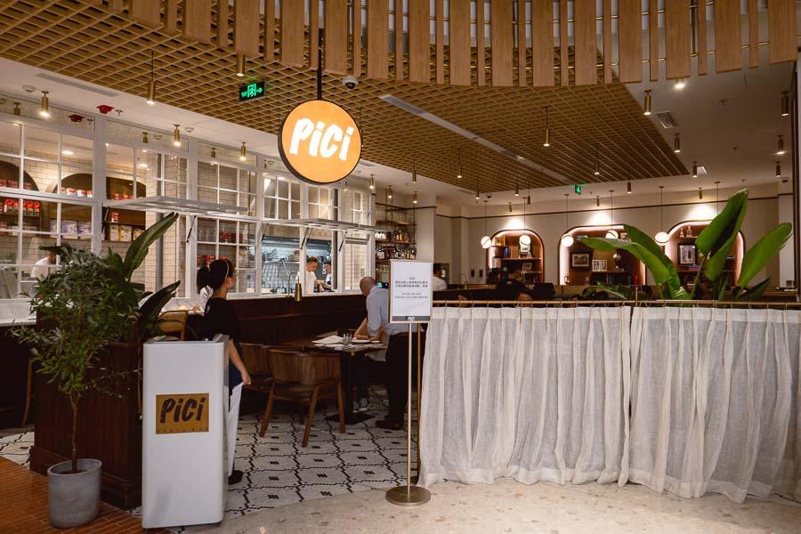 Pici, an Italian restaurant and pasta bar in Shanghai. Photo by Rachel Gouk @ Nomfluence.