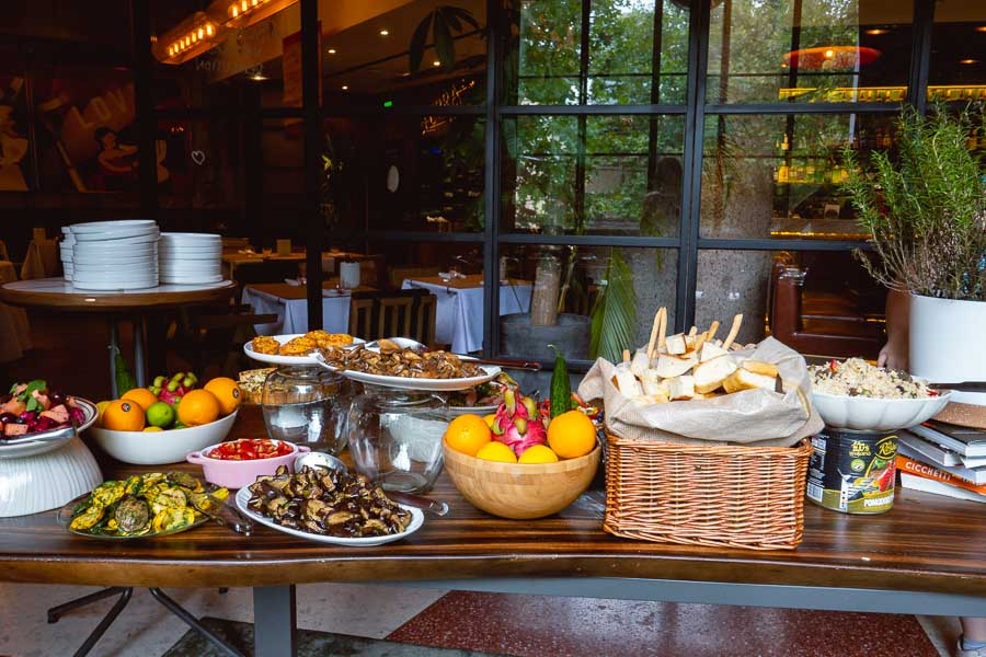 Brunch in Shanghai: semi-buffet and free-flow brunch at Italo Trattoria. Photo by Rachel Gouk @ Nomfluence.