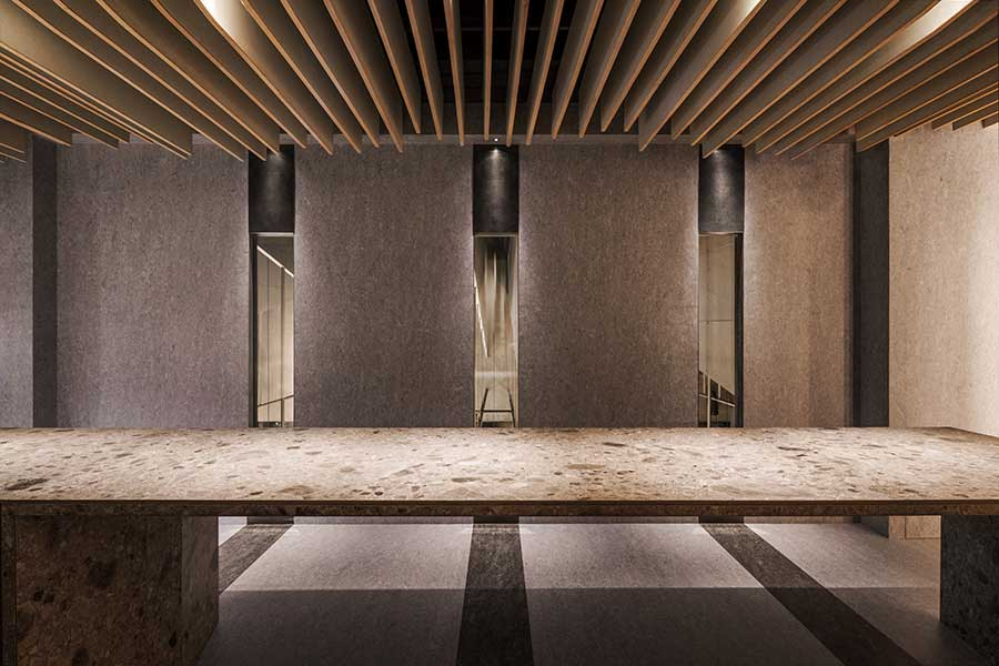 Nikai is a high-end Japanese-inspired restaurant by Michelin two-star Taian Table, Shanghai.