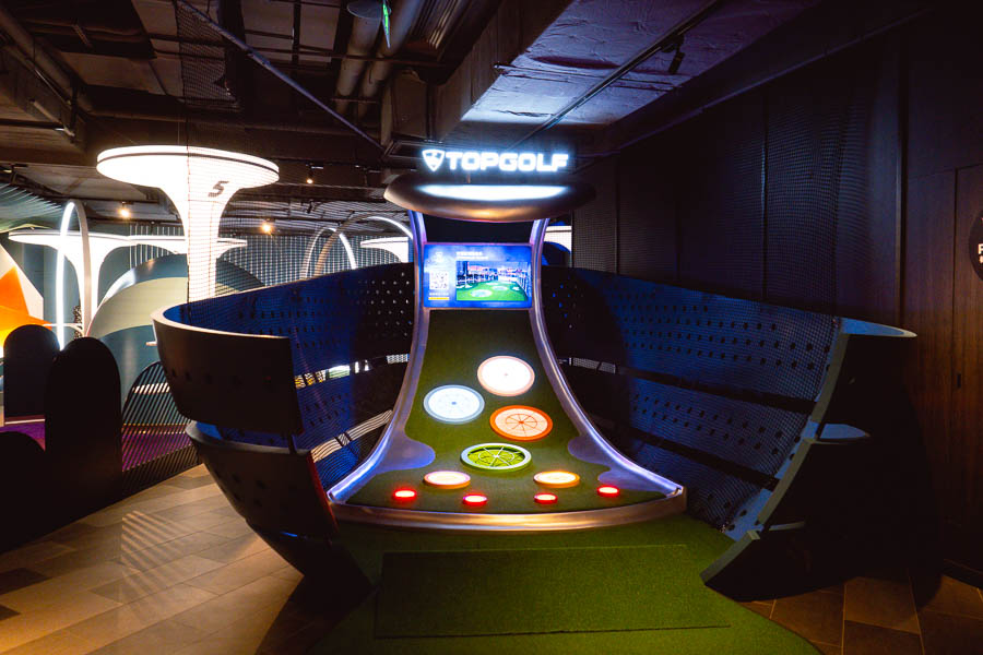 Lounge by TopGolf is an entertainment venue from the UK that has opened it's first outpost in Shanghai, China. Photo by Rachel Gouk @ Nomfluence.