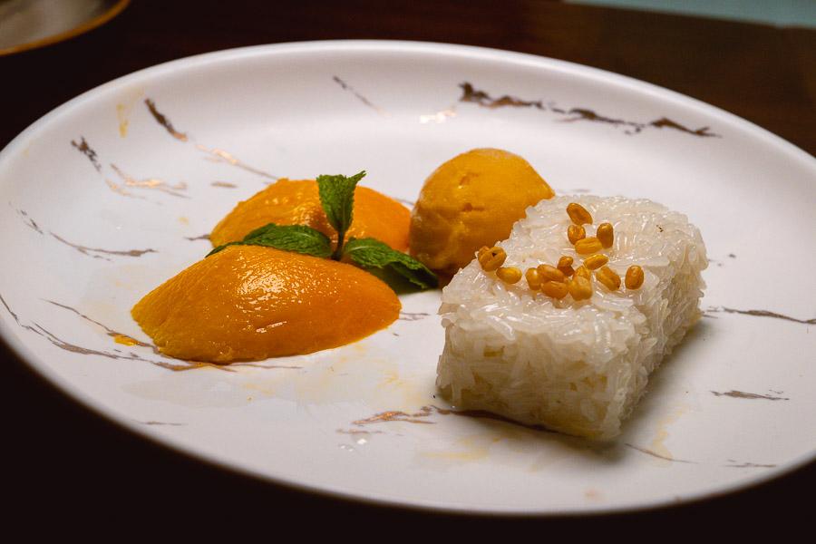 Chef de Cuisine Rosarin Sriprathum from Celadon Restaurant, The Sukhothai Bangkok does modern Thai menu at The Sukhothai Shanghai. Photo by Rachel Gouk @ Nomfluence.