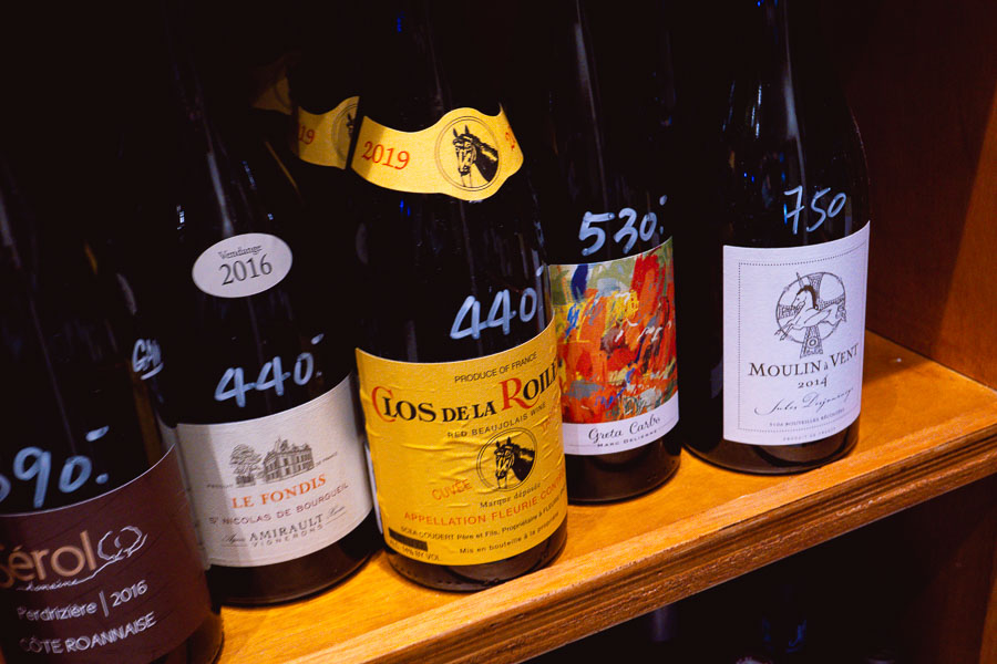 Wines at theWarehouse, a grab and go wine shop and micro wine bar in Shanghai. Photo by Rachel Gouk @ Nomfluence.