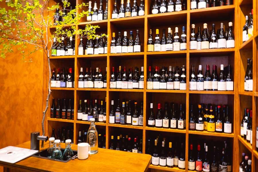 The Warehouse, a micro wine bar and wine shop in Xuhui, Shanghai. Photo by Rachel Gouk @ Nomfluence.
